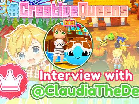 #CreativeQueens - Episode 9 - Interview with Claudia The Dev