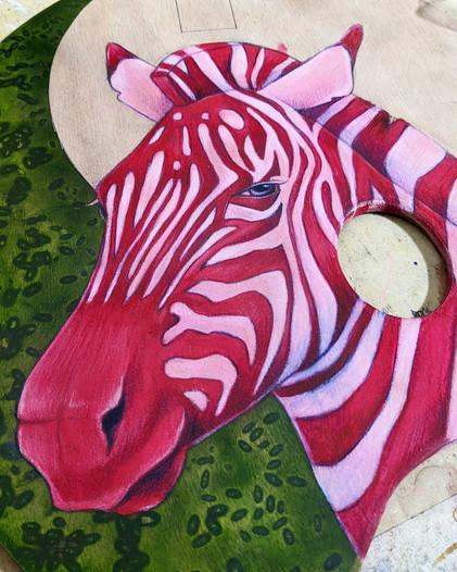 """""""The Pink Zebra Queen"""""""