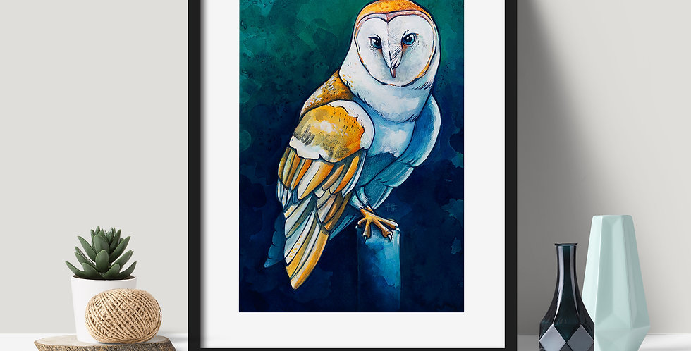 """Wisdom in Blue"" 