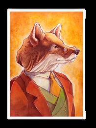 """""""Dapper Mr Fox."""""""