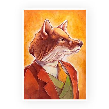 """""""The Gentleman Fox"""""""