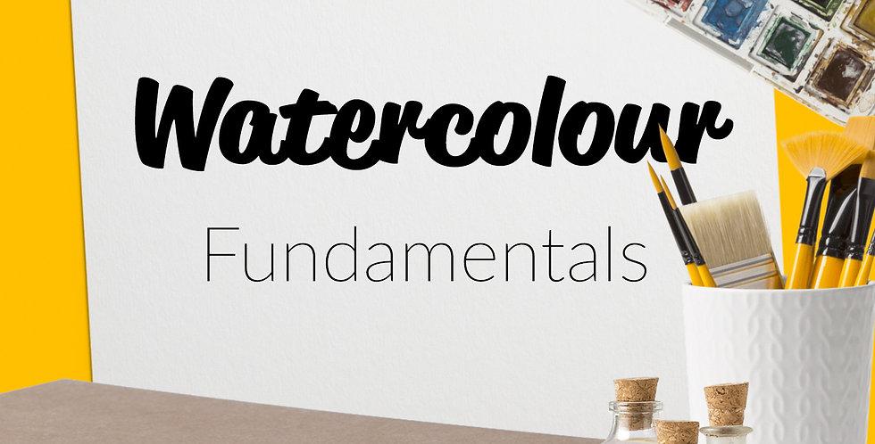 Watercolour Fundamentals | 1 Hour Online Art Lesson