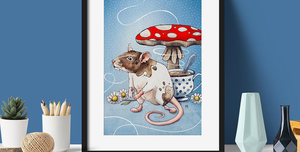 """Archie Earl Grey"" | Fine Art Print"