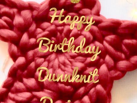 Happy Birthday 'Dunnknit Designs'