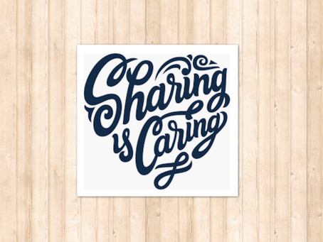 'Sharing is Caring'