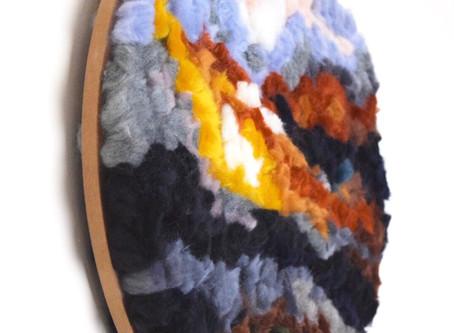 Merino Wool Art
