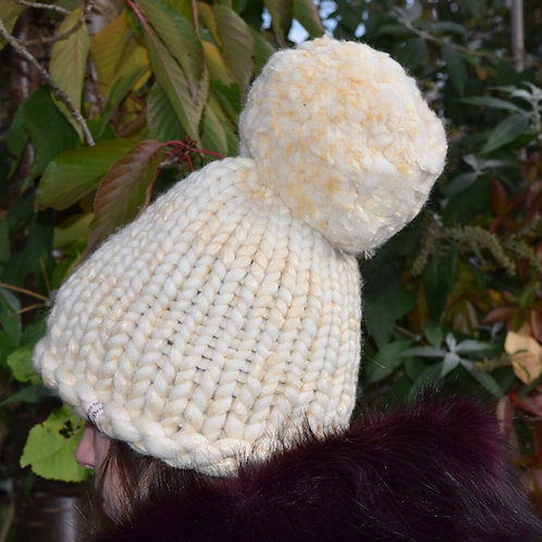 Giant Pom-Pom Hat