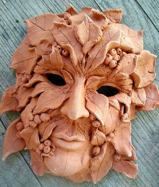 Mask Making in the Forest