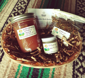 Monthly Herb Basket