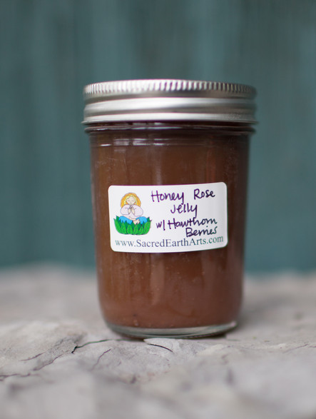 Honey Rose Jelly with Hawthorn