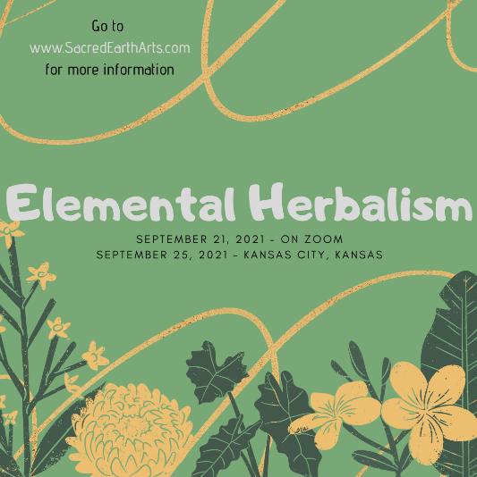Elemental Herbalism - Zoom Class
