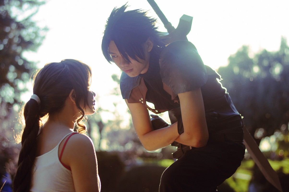 Cosplay, Zack and Aerith, FFVII