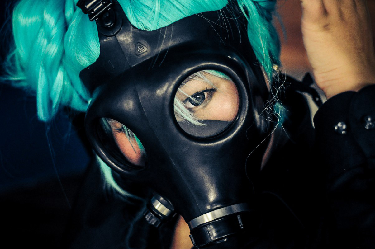Cosplay, Hatsune Miku, Gas Mask