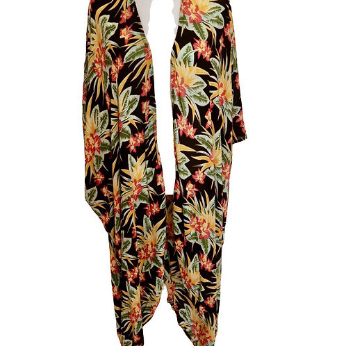Long Tropical Kimono
