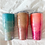 Thumbnail: Custom Glitter Tumbler Ombre (Two-Layered) Stainless Steel Tumbler ll Personaliz