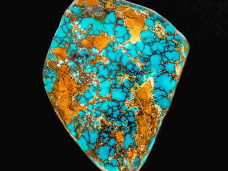 Famous Turquoise Mines. Royston District.