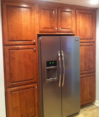 After Refrigerator Cabinet