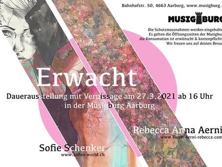 Dauerausstellung mit Vernissage 27.3.2021