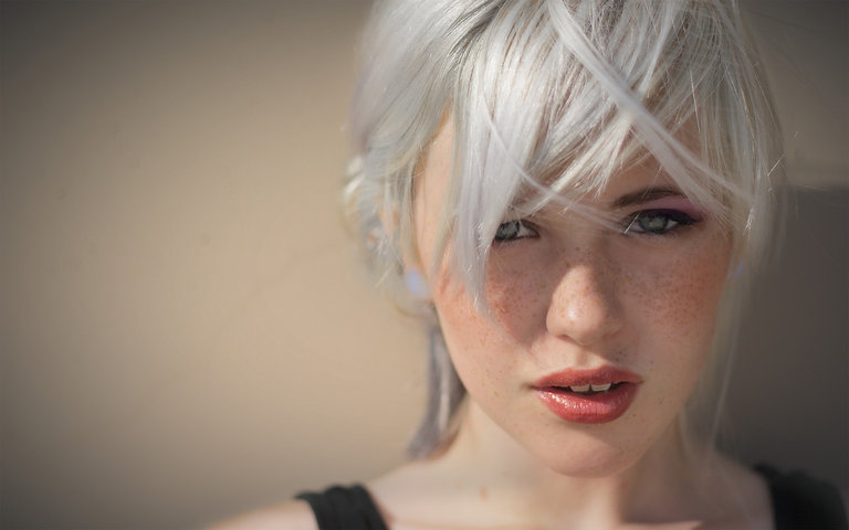women-Sun-fashion-people-white-hair-gray