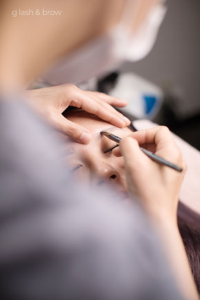 G lash and brow is a beauty studio that