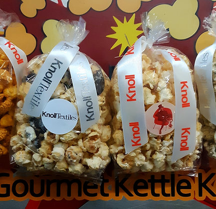 10 Pack - 2 Cup Decorative Kettle Korn Bags (Custom Labels)