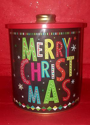 Holiday Gift Tin (Medium/1 Gallon)