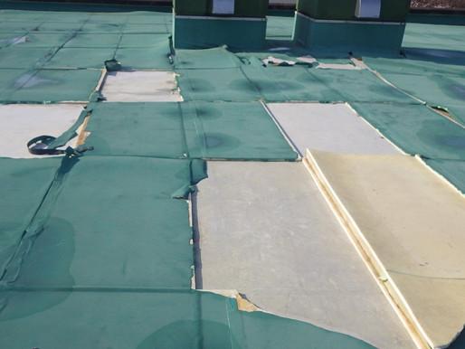 屋上 防水工事 雨漏り改善