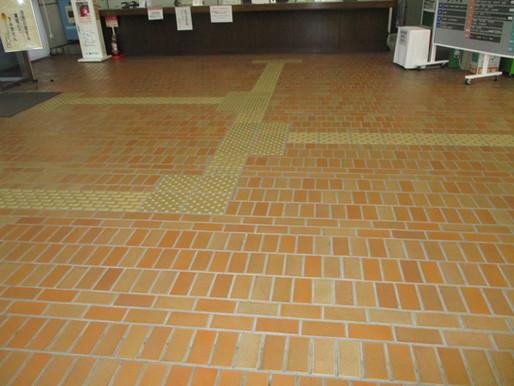 松山市役所 本館・別館1階 床の改修工事