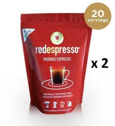 ground red espresso® 250g x 2