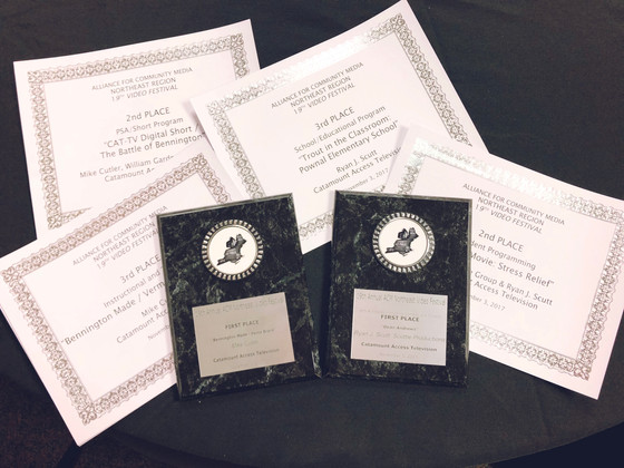 CAT-TV Wins 7 ACM-NE Awards!