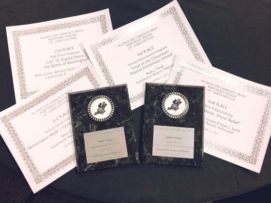 CAT-TV Wins 7 ACM-NE Awards!