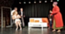 Photo des comédiens, acteurs de théâtre d'Art-Thea ville de La Crau