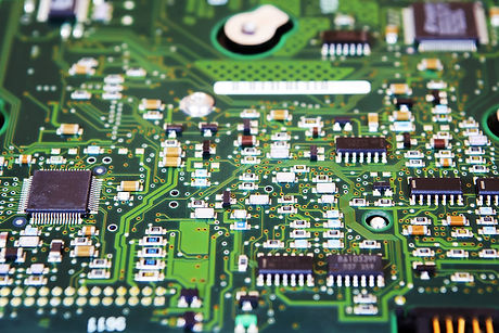 Computer Hard Disk Electronics Circuit, Macro Photo.jpg Hard disk repairing concept, Data saving con