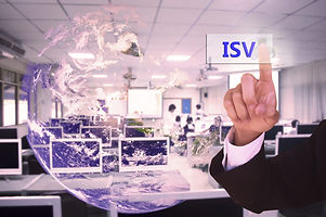 touching ISV  or independent software ve