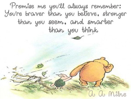 Winnie The Pooh Raises Awareness About Mental Health
