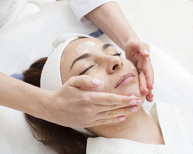 massage and facial peels at the salon co