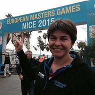 Taekwondo la Garnache, Virginie Coulombier aux European Masters Games