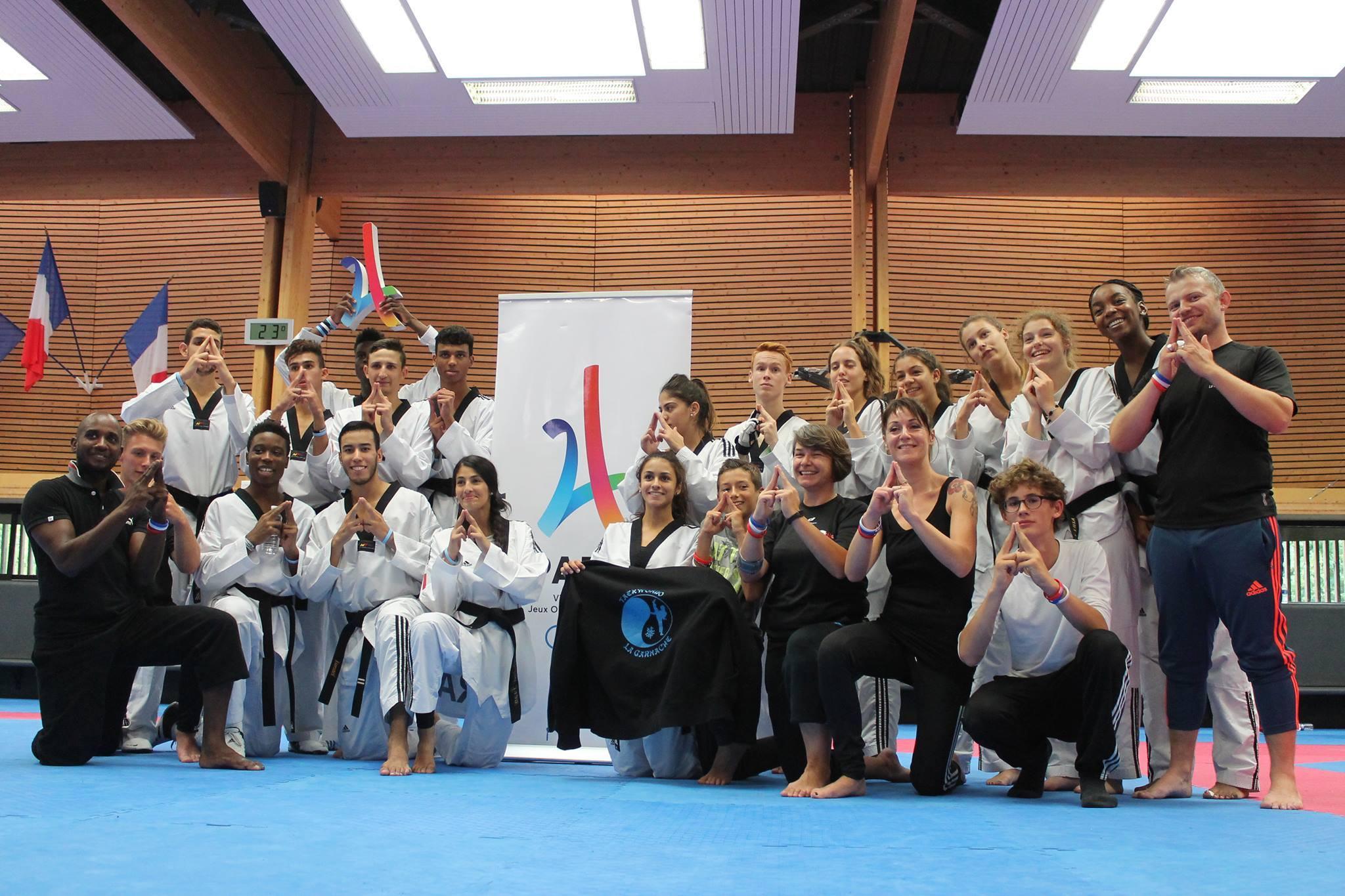 Le Taekwondo La Garnache à l'INSEP