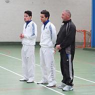 Taekwondo la Garnache avec Raihau Chin et Arnaud Sangue