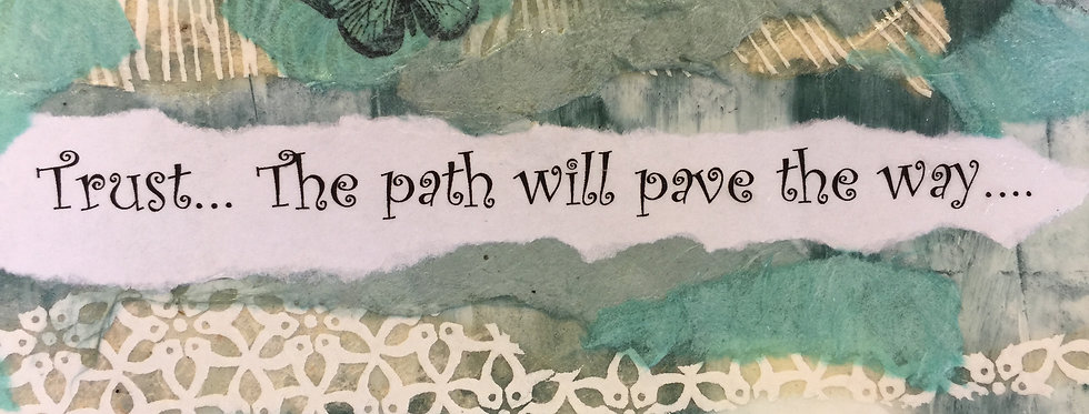 """""""The Path""""Note Card"""