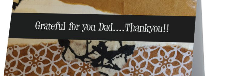 """""Dad""-Note card"