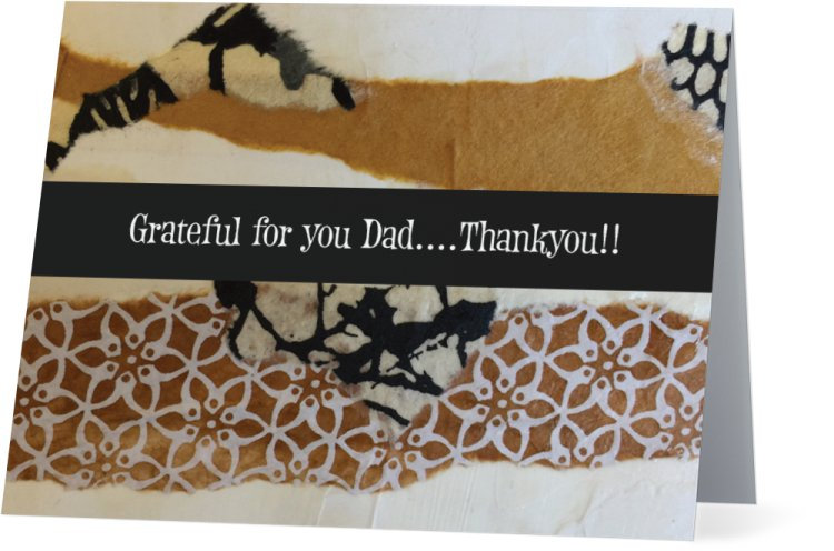 """""Dad""-Note card"