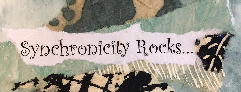 """Synchronicity Rocks"" Note cards"