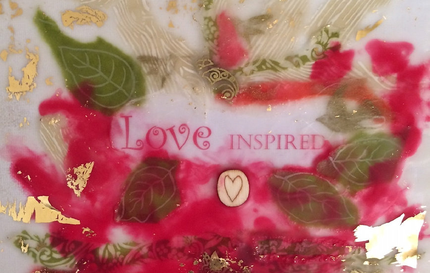 """Love Inspired"" Note card"