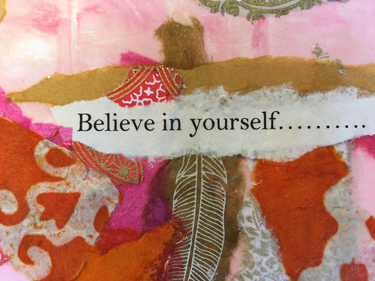 """""""Believe in Yourself"""" Note card"""
