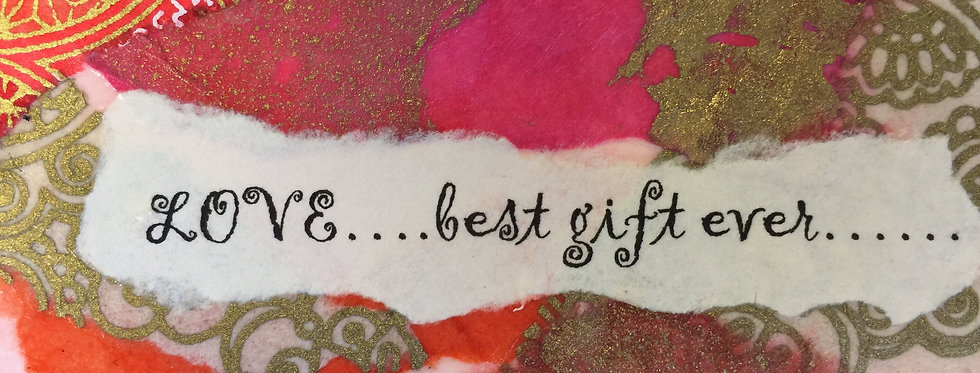 """""""Best Gift Ever"""" Note card"""