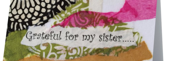 """""""Sister""""-Note card"""