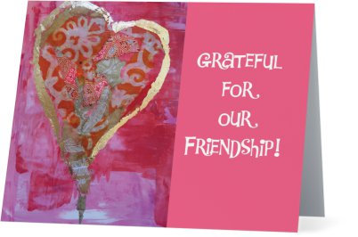 """""""Grateful""""-Note card"""