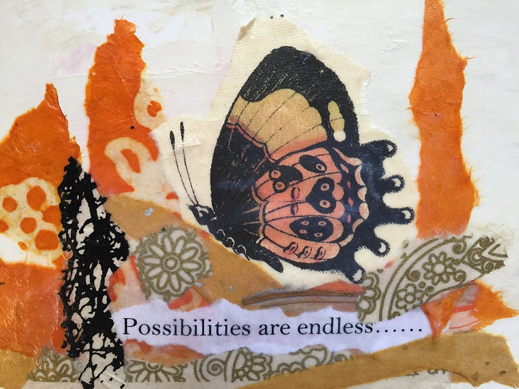"""""""Possibilities"""" Note card"""