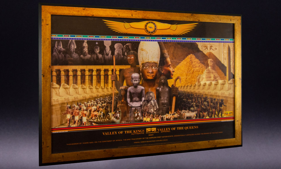 Valley of the Kings Poster-Framed